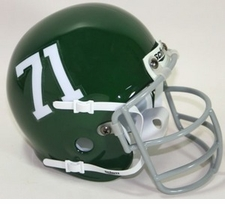 Miami Hurricanes 1971 Schutt Throwback Mini Helmet