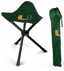 Miami Hurricanes Folding Stool