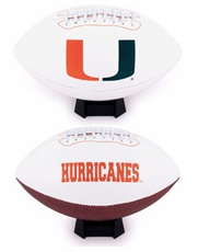 Miami Hurricanes Full Size Jersey Football