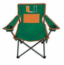 Miami Hurricanes Monster Mesh Chair