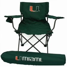 Miami Hurricanes Rivalry Adult Chair
