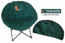 Miami Hurricanes Round Sphere Chair