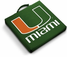 Miami Hurricanes Stadium Seat Cushion