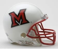 Miami of Ohio RedHawks Riddell Replica Mini Helmet