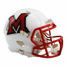 Miami of Ohio Redhawks Riddell Speed Mini Helmet