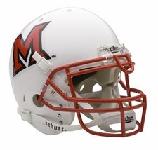 Miami of Ohio RedHawks Schutt Authentic Full Size Helmet