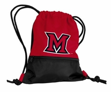 Miami of Ohio Redhawks String Pack / Backpack