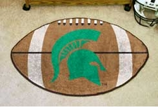 "Michigan State Spartans 22""x35"" Football Floor Mat"