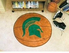 "Michigan State Spartans 27"" Basketball Floor Mat"