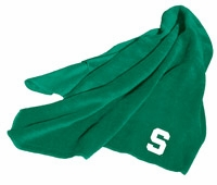 Michigan State Spartans Fleece Throw