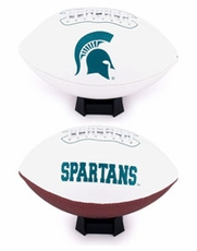 Michigan State Spartans Full Size Signature Embroidered Football
