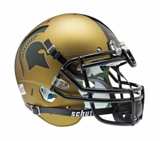 Michigan State Spartans Gold Schutt XP Authentic Helmet