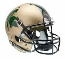 Michigan State Spartans Gold Schutt XP Full Size Replica Helmet