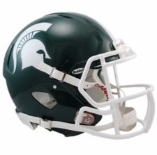 Michigan State Spartans Riddell Revolution Speed Authentic Helmet