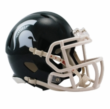 Michigan State Spartans Riddell Speed Mini Helmet