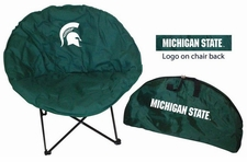 Michigan State Spartans Round Sphere Chair
