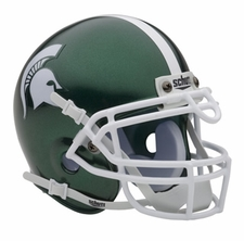 Michigan State Spartans Schutt Authentic Mini Helmet