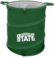 Michigan State Spartans Tailgate Trash Can / Cooler / Laundry Hamper