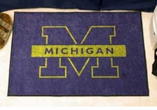 "Michigan Wolverines 20""x30"" Starter Floor Mat"