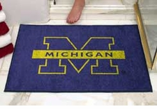 "Michigan Wolverines 34""x45"" All-Star Floor Mat"