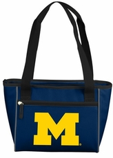 Michigan Wolverines 8 Can Cooler Tote