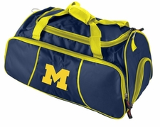 Michigan Wolverines Athletic Duffel Bag