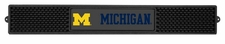 Michigan Wolverines Bar Drink Mat