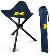 Michigan Wolverines Folding Stool