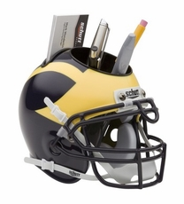 Michigan Wolverines Helmet Desk Caddy