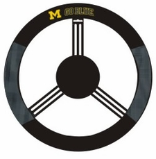 Michigan Wolverines Mesh Steering Wheel Cover