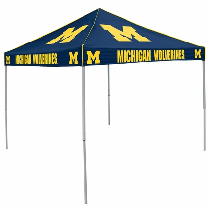 Michigan Wolverines Navy Logo Canopy Tailgate Tent