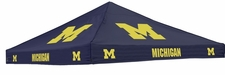 Michigan Wolverines Navy Logo Tent Replacement Canopy