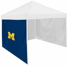 Michigan Wolverines Navy Side Panel for Logo Tents