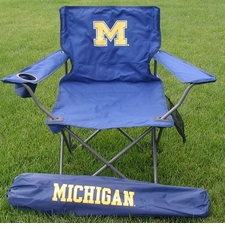 Michigan Wolverines Rivalry Adult Chair