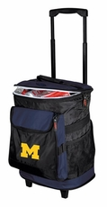 Michigan Wolverines Rolling Cooler