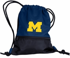 Michigan Wolverines String Pack / Backpack