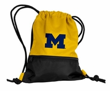 Michigan Wolverines Yellow String Pack / Backpack
