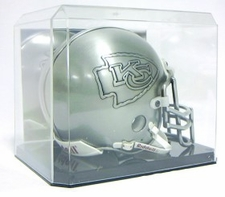 Mini Helmet Display with Mirrored Back