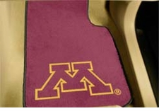 Minnesota Golden Gophers 2-Piece Carpeted Car Mats Front Set