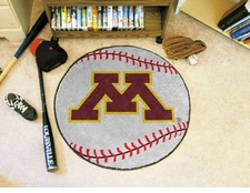 "Minnesota Golden Gophers 27"" Baseball Floor Mat"