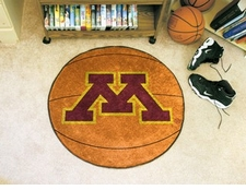 "Minnesota Golden Gophers 27"" Basketball Floor Mat"