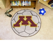 "Minnesota Golden Gophers 27"" Soccer Ball Floor Mat"