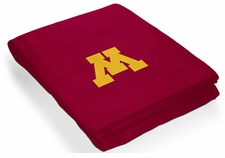 Minnesota Golden Gophers Classic Fleece Blanket