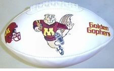 Minnesota Golden Gophers Full Size Signature Embroidered Football