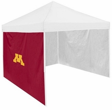 Minnesota Golden Gophers Garnet Side Panel for Logo Tents