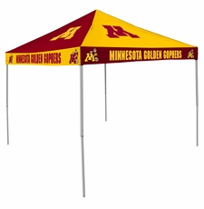 Minnesota Golden Gophers Maroon / Gold Checkerboard Logo Canopy Tailgate Tent