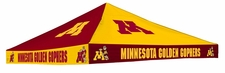 Minnesota Golden Gophers Maroon / Gold Checkerboard Logo Tent Replacement Canopy