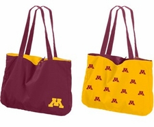 Minnesota Golden Gophers Reversible Tote Bag