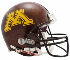 Minnesota Golden Gophers Riddell Pro Line Authentic Helmet