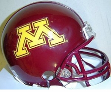Minnesota Golden Gophers Riddell Replica Mini Helmet